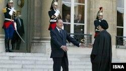 دیدار خاتمی و شیراک، روسای جمهوری وقت ایران و فرانسه