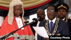 President Robert Mugabe was sworn in last week following his party's landslide victory in the July 31 elections