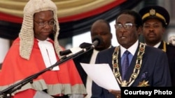 President Robert Mugabe's inauguration