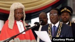 President Robert Mugabe is inaugurated for a seventh time.