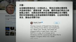 "VOA连线(黄耀毅):川普批评的""车队移民""其实是难民"