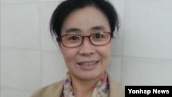 제41회 한국소설 신인상에 당선된 탈북 소설가 김정애 씨.