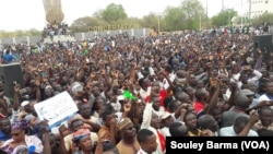 NIGER: Zanga zanga akan tsadar rayuwa a Nijar