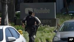 Policiais correm rumo à sede do YouTube nesta Terça-feira