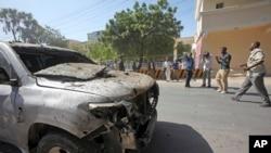 Kundi la al-Shabab pia lilishambulia gari lililobeba wafanyakazi wa UNICEF huko Gorowe