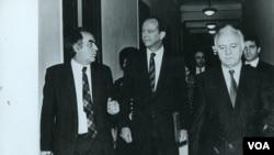 აშშ-ს პირველი ელჩი საქართველოში კენტ ბრაუნი
