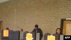 На избирательном участке графства принца Джорджа