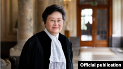 ICJ ႏိုင္ငံတကာတရား႐ံုးရဲ႕ ဒုဥကၠ႒ Xue Hanqin (ICJ)