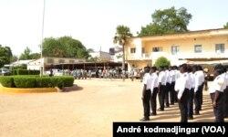 Les locaux du commissariat central de N'Djamena, au Tchad, le 7 juin 2017. (VOA/André kodmadjingar)