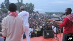 Meeting de masse du candidat Vital Kamerhe à Goma, RDC (Novembre 2011)