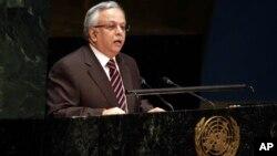 المعلمی گزارش ملل متحد در مورد کشتار کودکان یمنی توسط ایتلاف به رهبری عربستان سعودی را تکذیب کرد. (عکس از آرشیف)