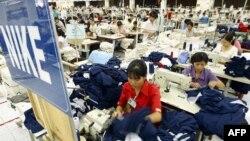 Nhiều nhà máy sản xuất sản phẩm cho Nike tại Việt Nam đã bị đóng cửa vì tình trạng bùng phát dịch COVID-19.