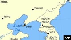 朝鲜半岛一侧的黄海水域