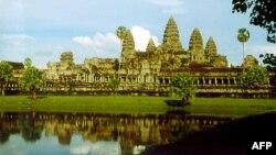 Đền Angkor Wat ở Campuchia là một thắng cảnh thu hút du khách