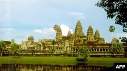 Khu đền Angkor Wat ở Campuchia