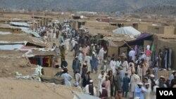 Waziristan Refugees camp Khust