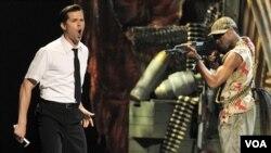 """Scena iz mjuzikla """"The Book of Mormon"""" izvedena na dodjeli nagrade Tony"""