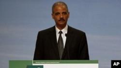 美国司法部长霍尔德在香港知识产权峰会上