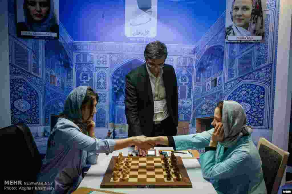 مسابقات قهرمانی شطرنج بانوان جهان عکس: اصغر خمسه