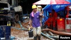 Iz pećine Tam Luang se konstantno ispumpava voda