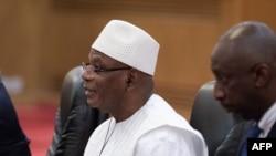 Le président du Mali Ibrahim Boubacar Keita , le 31 août 2018.
