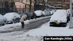 Снігопад у Нью-Йорку, 17 грудня 2020