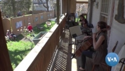 From Garages to Porches, Music Keeps Flowing During COVID Isolation