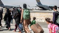 阿富汗難民家庭在美國開始新生活