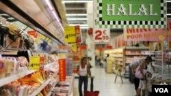 Tidak mudah menemukan toko makanan halal di Amerika yang mayoritas warganya adalah non-muslim (foto: ilustrasi).