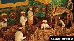Burmese musical instrument (ျမန္မာ့ ဆိုင္းဝို္င္း)