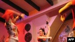 Nghệ sĩ flamenco tại Sevilla