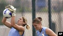 US Women's Soccer Backup Goalkeeper Seizes Opportunity