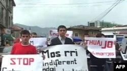 Manifestim në Shkodër kundër fenomenit të gjakmarrjes