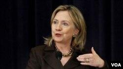Menlu AS Hillary Clinton melakukan pembicaraan terpisah dengan pejabat Palestina dan Israel di Washington.