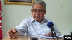 Gubernur Aceh Dr. Zaini Abdullah (VOA/Budi Nahaba)