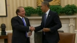 Obama, Sharif Discuss Drones, Extremism, Afghanistan