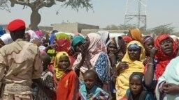 'Yan Najeriya Masu Gudun hijira a Niger