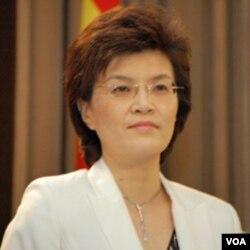 Juru bicara Kemlu Tiongkok, Jiang Yu