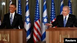 صدر اوباما اور اسرائیل کے وزیراعظم نتن یاہو