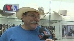 ហាង The Hat Store នៅទីក្រុង Houston រដ្ឋ Texas មានលក់មួក Cowboy ពិសេសៗ