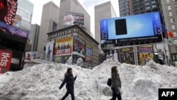 Нью-Йорк. США. 27 января 2011 года