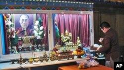 俄罗斯布里亚特共和国首府乌兰乌德市中心的一处佛教活动场所,供奉有达赖喇嘛象