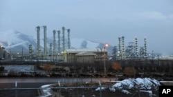 Reaktor nuklir Iran di kota Arak, Iran (foto: dok).