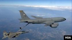 KC-135 空中加油機(美國國防部網頁截圖)