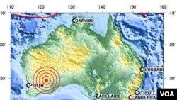 Gempa bumi berkekuatan 5,0 skala Richter melanda daerah Goldfields, Australia