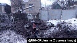 Авдіївка. Фото з Twitter @UNHCRUkraine