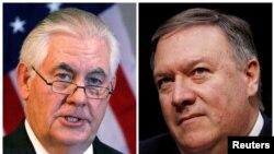 Ngoại trưởng Mỹ Rex Tillerson và Giám đốc Cơ quan tình báo Trung ương (CIA) Mike Pompeo.
