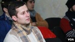 Ramin Hüseynov - N!DA Vətəndaş Hərəkatının üzvü