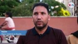 VOA habla con Nasim, afgano en España