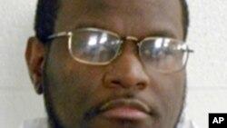 Kenneth Williams, reconnu coupable de meurtre, a reçu une injection létale dans l'Arkansas, Etats-Unis, 27 avril 2017.